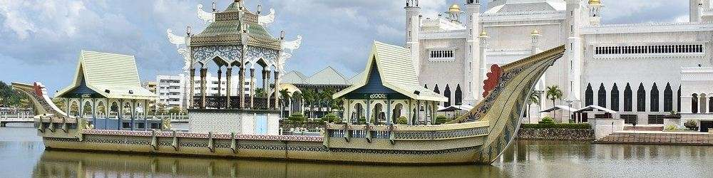 Boat and Palace Brunei News