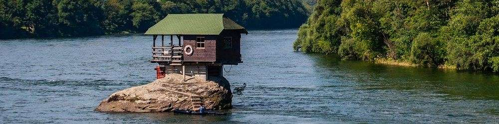 House on a rock Serbia