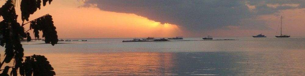 Seascape at dusk from the latest Fiji news
