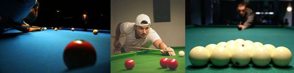 Snooker, pool and billiards
